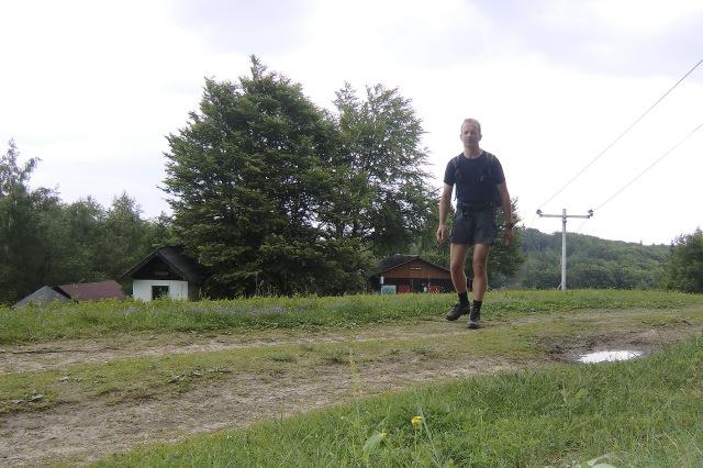 Passing Sedlo Cergov