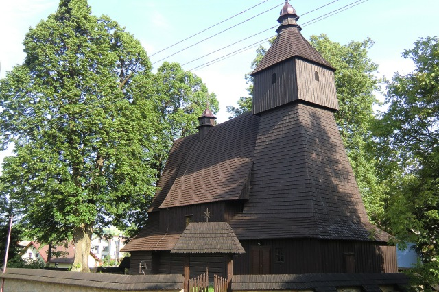 Oldest wooden church in Slovakia (16th century)