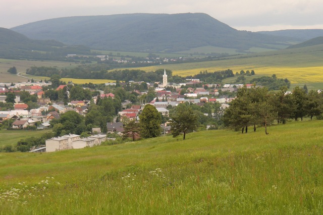 view on Zborov