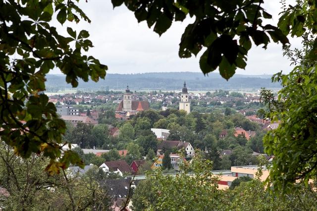 view on Crailsheim