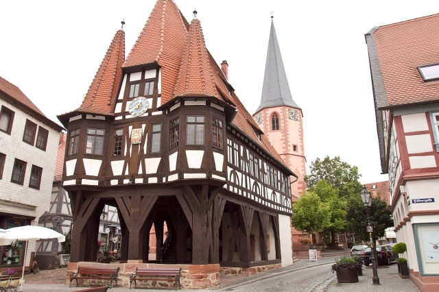 central square in Michelstadt