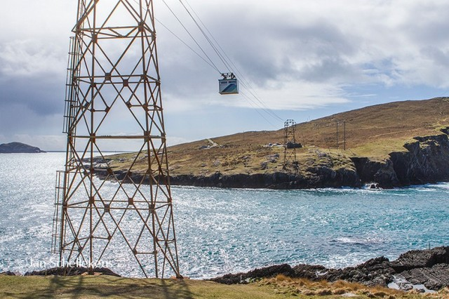 Cablecar to Dursey Island