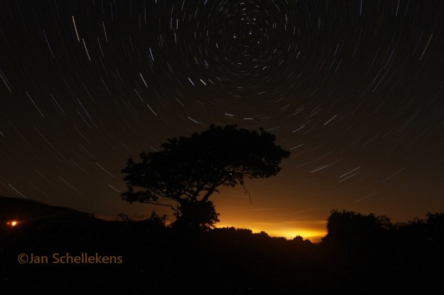Startrails over Millstreet